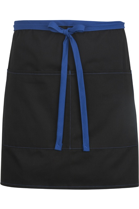 Half Bistro Apron-Color Blocked 9027