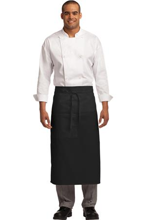 Easy Care Full Bistro Apron with Stain Release. A701