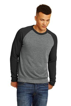 Alternative Champ Colorblock Eco -Fleece Sweatshirt. AA32022