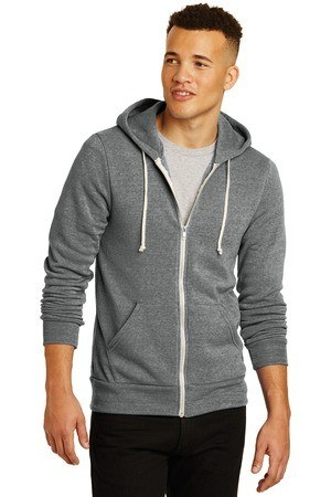Alternative Rocky Eco -Fleece Zip Hoodie. AA9590