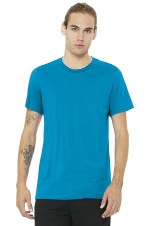 BELLA+CANVAS  Unisex Jersey Short Sleeve Tee. BC3001