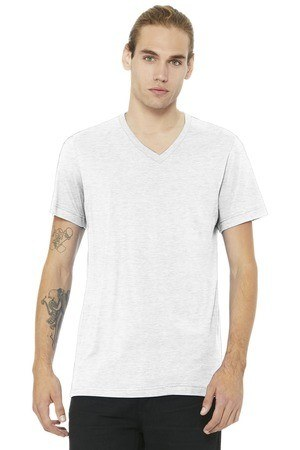 BELLA+CANVAS  Unisex Jersey Short Sleeve V-Neck Tee. BC3005