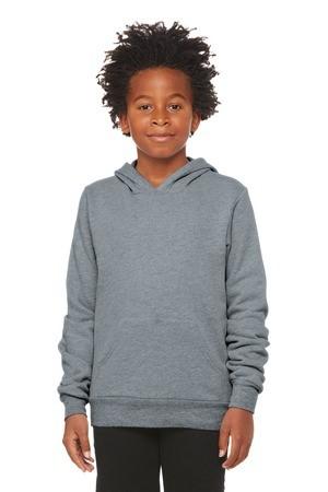 BELLA+CANVAS  Youth Sponge Fleece Pullover Hoodie BC3719Y