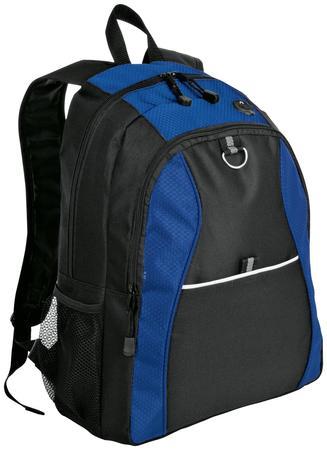 Port Authority Contrast Honeycomb Backpack. BG1020