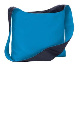 Port Authority Cotton Canvas Sling Bag. BG405