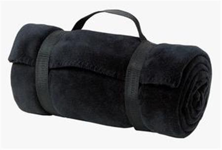 Port and Company - Value Fleece Blanket with Strap. BP10