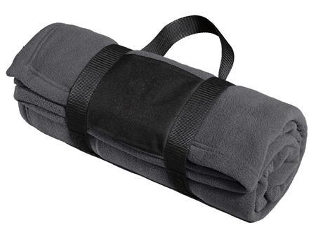 Port Authority - Fleece Blanket with Carrying Strap. BP20