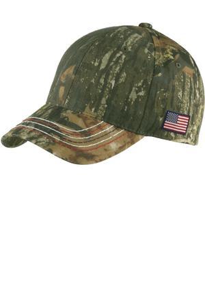 Port Authority Americana Contrast Stitch Camouflage Cap. C909