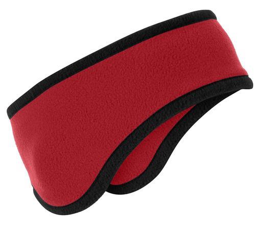 Port Authority Two-Color Fleece Headband. C916