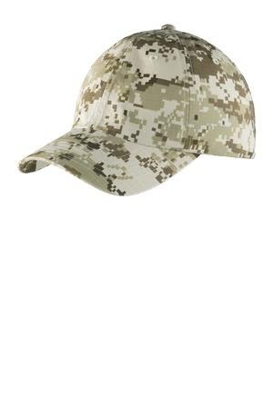 Port Authority Digital Ripstop Camouflage Cap. C925