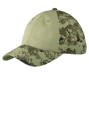 Port Authority Colorblock Digital Ripstop Camouflage Cap. C926