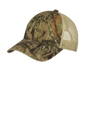Port Authority  Unstructured Camouflage Mesh Back Cap. C929