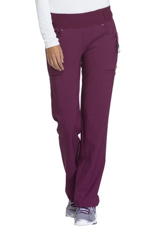 Mid Rise Straight Leg Pull-on Pant CK002