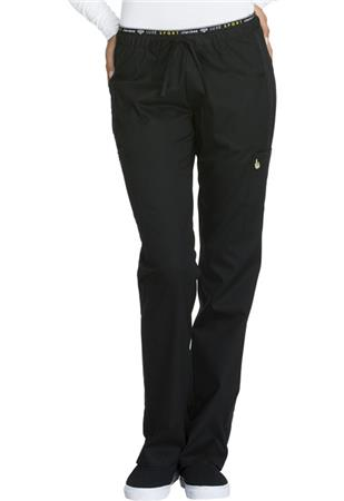 Mid Rise Straight Leg Pull-on Pant CK003T