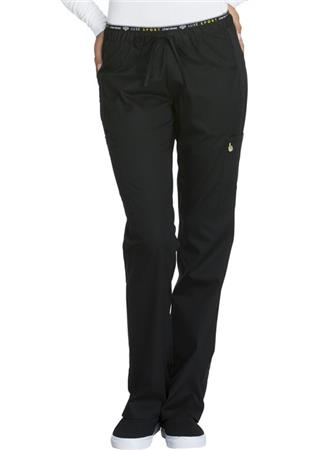 Mid Rise Straight Leg Pull-on Pant CK003