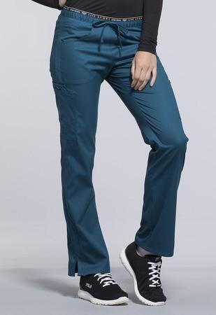 Cherokee Mid Rise Straight Leg Pull-on Pant CK003