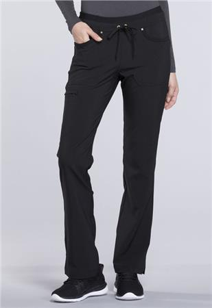 Mid Rise Tapered Leg Drawstring Pants CK010P