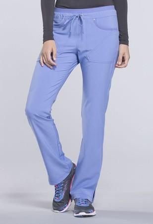 Mid Rise Tapered Leg Drawstring Pants CK010T