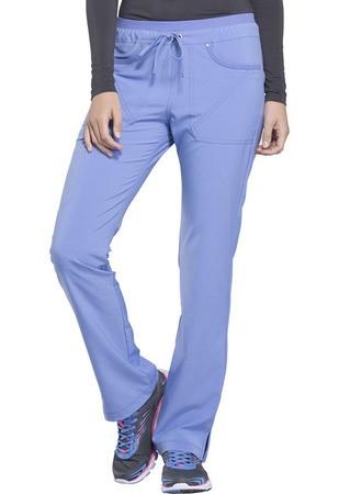 Mid Rise Tapered Leg Drawstring Pants CK010