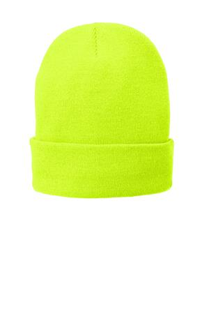 Port and Company Fleece-Lined Knit Cap. CP90L