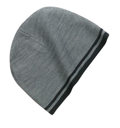 Port & Company Fine Knit Skull Cap with Stripes.   CP93