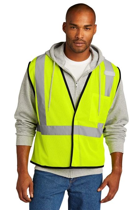 CornerStone  ANSI 107 Class 2 Economy Mesh One-Pocket Vest. CSV100