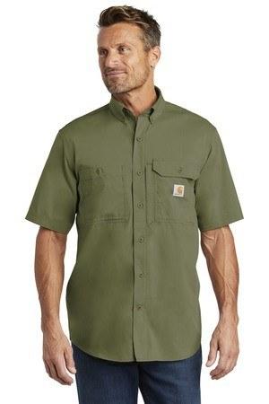 Carhartt Force  Ridgefield Solid Short Sleeve Shirt. CT102417