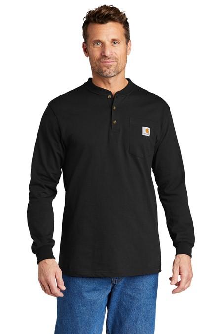 Carhartt Long Sleeve Henley T-Shirt CTK128