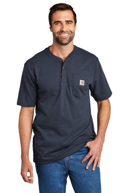 Carhartt Short Sleeve Henley T-Shirt CTK84