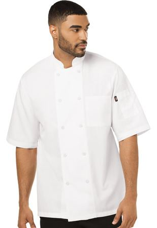 Unisex Cool Breeze Chef Coat DC412