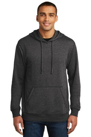 District Made  Mens Lightweight Fleece Hoodie. DM391