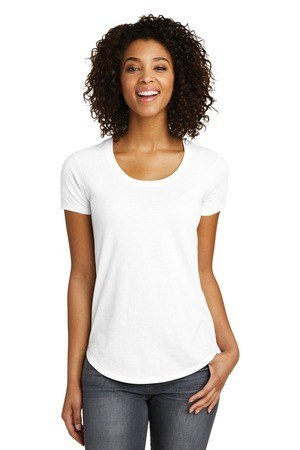 District  Juniors Scoop Neck Very Important Tee . DT6401