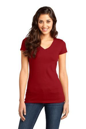 District - Juniors Very Important Tee V-Neck. DT6501