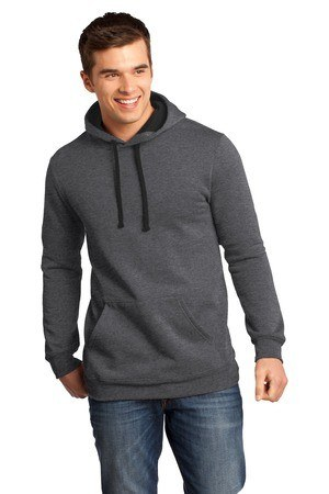 District - Young Mens Concert Fleece Hoodie. DT810