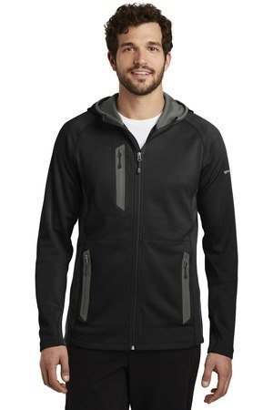 Eddie Bauer  Sport Hooded Full-Zip Fleece Jacket. EB244