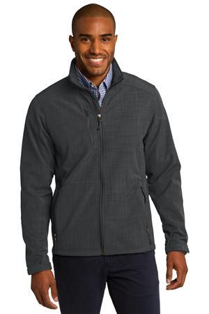 Eddie Bauer Shaded Crosshatch Soft Shell Jacket. EB532