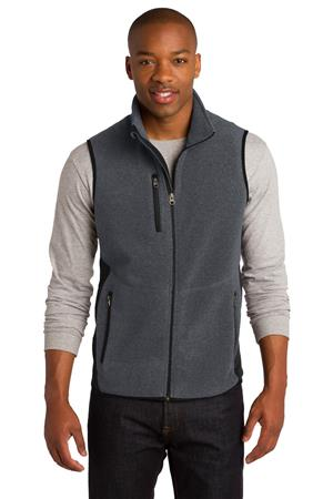 Port Authority R-Tek Pro Fleece Full-Zip Vest. F228