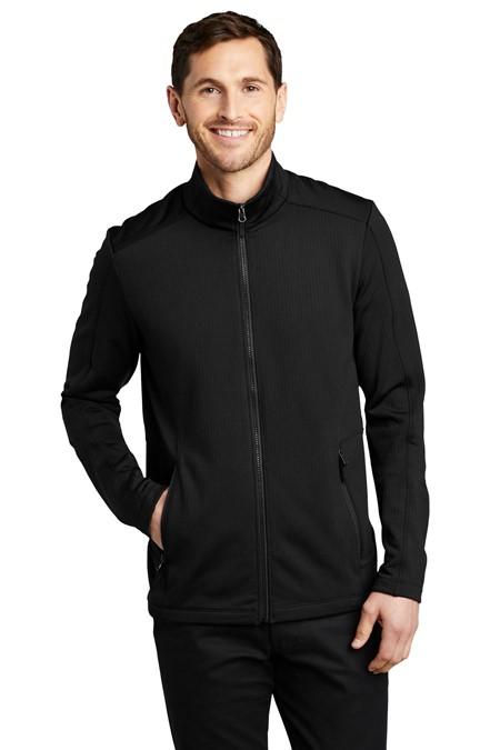 Port Authority  Grid Fleece Jacket. F239