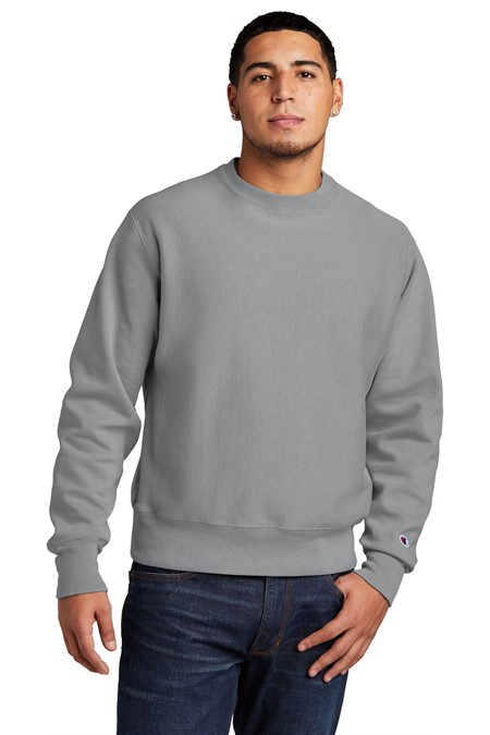 Champion  Reverse Weave  Garment-Dyed Crewneck Sweatshirt. GDS149