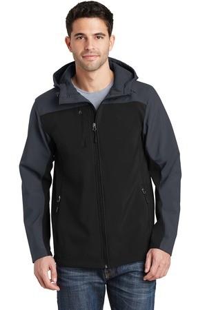 Port Authority Hooded Core Soft Shell Jacket. J335