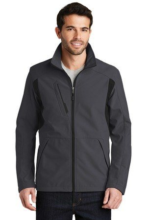 Port Authority  Back-Block Soft Shell Jacket. J336