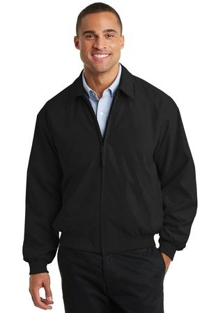 Port Authority Casual Microfiber Jacket. J730