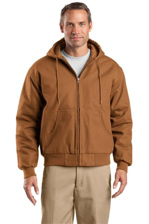 CornerStone - Duck Cloth Hooded Work Jacket.J763H