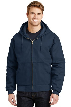 CornerStone - Duck Cloth Hooded Work Jacket.  J763H