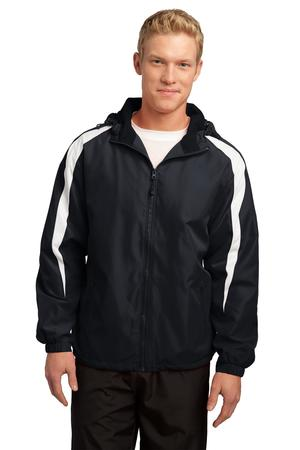 Sport-Tek Fleece-Lined Colorblock Jacket. JST81