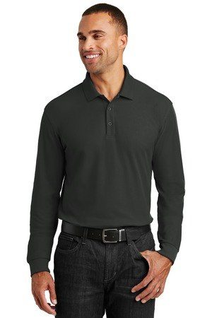Port Authority  Long Sleeve Core Classic Pique Polo. K100LS