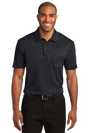 Port Authority Silk Touch Performance PocketPolo. K540P