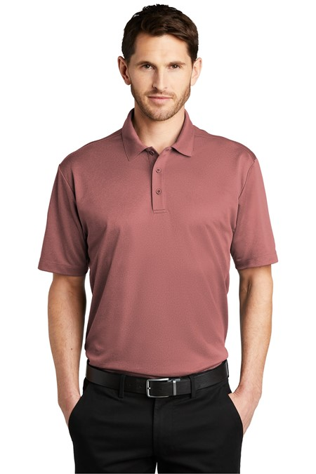 Port Authority  Heathered Silk Touch  Performance Polo. K542