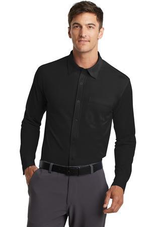 Port Authority Dimension Knit Dress Shirt. K570