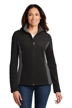 Port Authority Ladies Colorblock Value Fleece Jacket. L216